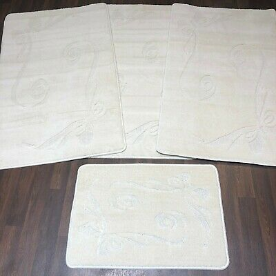 Romany Washables Travellers 4pc Sets Mats Non Slip New