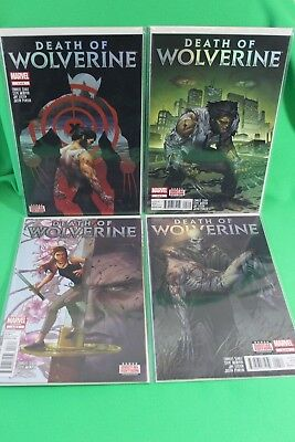 Death of Wolverine #1 2 3 4 Complete Marvel Comics Comic Set Run VF