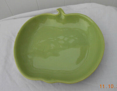 Vintage Large Green Apple Pottery - California Made - No. 813