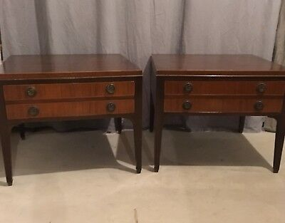 Pair Mid Century Kittinger End Tables