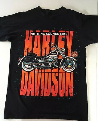 Vintage 1990's Harley Davidson Biker T-Shirt Nothing Sounds Like a Harley!, Size XL