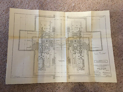 1910 Panama Canal Diagram Stoney Gate Valves Machinery for Locks Assembly Plan