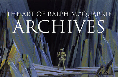 ART OF RALPH McQUARRIE: ARCHIVES Hardcover Book 400+ PAGES Concept Art STAR WARS