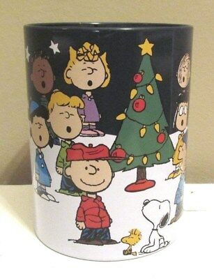 Peanuts Gang Charlie Brown, Snoopy Christmas Cup/Can Cooler Kohl's New