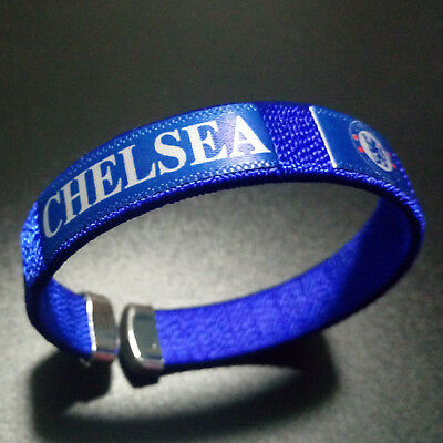 Chelsea Wristband Wrist Band Soccer Club Bracelet Run Sport Adjustable