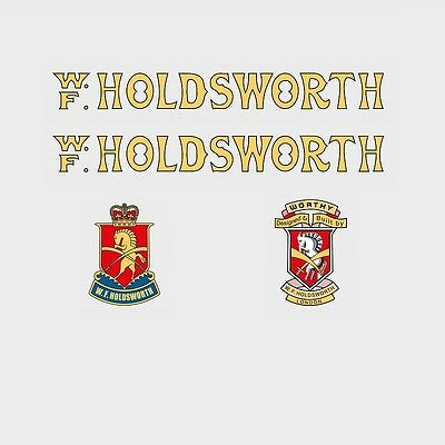 Transfers Holdsworth Professional Bicycle Decals Stickers n.2000