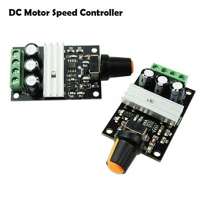 3A  6V/12V/24V/28V  Variable Regulator Controller PWM DC Motor Speed Switch HQ