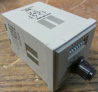 Siemens Potter Brumfield CNS-35-72 Programmable Time Delay Relay 0.1 Sec-100 Min