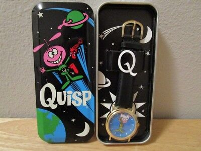 Quisp Watch Wristwatch Quaker Oats Cereal Giveaway