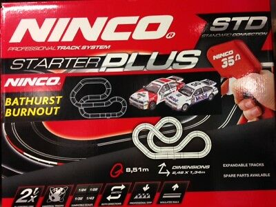 "Ninco Bathurst Burnout ""BROCK""  Slot Car Set"