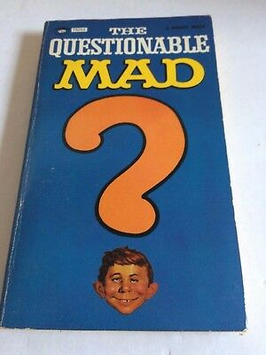 The Questionable Mad Signet Comic Strip Book Vintage Used