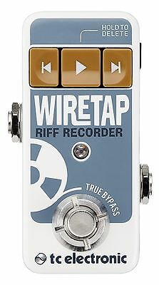 New TC Electronic Wire Tap Riff Recorder Guitar Effects Pedal WireTap