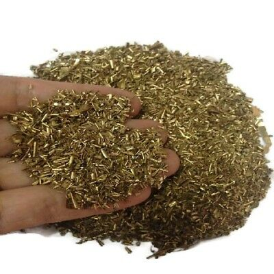 4Lb Brass Shavings Orgone Metal Turnings Curly Organite Supplies Craft Science