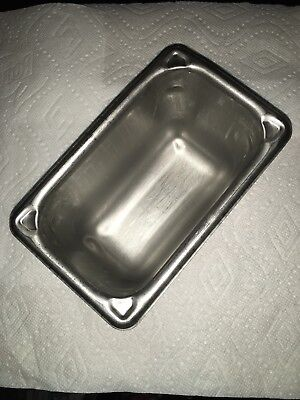 Vollrath Stainless Steel Commercial Food Serving Pan 1/9 Size 1.1Q