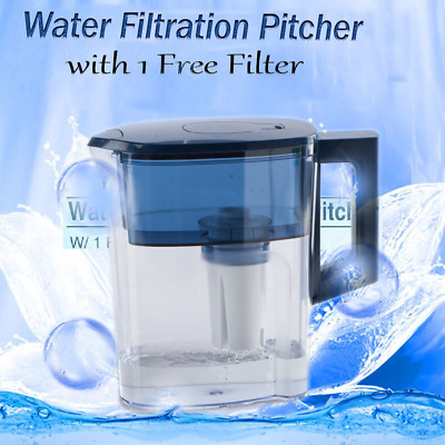 Tea Pot Type Filter System Activate Carbon Purifier Pitcher Used for Home 2.5L