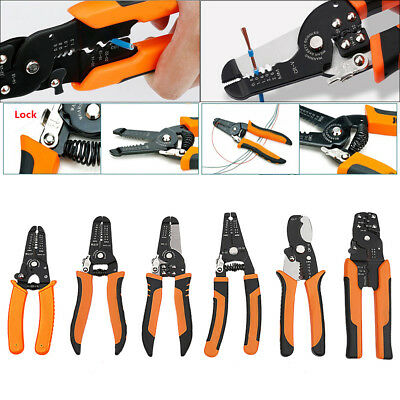 1Pc Optical fiber Cable Wire Multifunctional Stripper Cutter Plier Tool