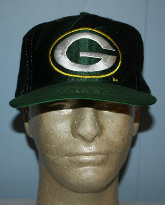 f5b62b9d8c3 Vintage Deadstock Logo Athletic Green Bay Packers Sharktooth Snapback Hat  Cap