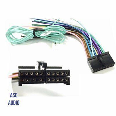 ASC AUDIO CAR Stereo Radio Wire Harness Plug for select Boss ... on car electrical system diagram, car audio battery box, car audio speaker, car stereo harness installation, car audio switches, car audio cover, car audio batteries, car audio engine, car audio mounting hardware, car audio lights, car audio resistor, car radio wiring diagram, car audio fan, car audio compressor, car audio fuse, car audio computer, car audio controller, car audio voltage regulator, car audio power supply, car audio remote control,