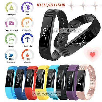 ID115 Bluetooth Smart Watch Band Health HR Tracker Sleep Monitor Pedometer Gift