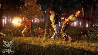 "003 State Of Decay 2 - Zombie Survival Game 42""x24"" Poster"