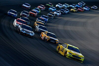 "058 Car Race - NASCAR USA Modified Cars 36""x24"" Poster"