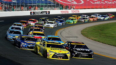 "074 Car Race - NASCAR USA Modified Cars 42""x24"" Poster"