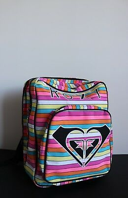 BRAND NEW - High Quality Colourful Roxy Girl's School Backpack - with tags