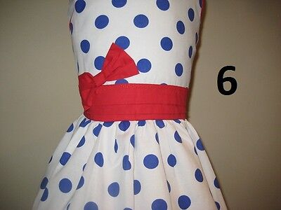 Girl Dresses sizes 2 to 10 Special Ocassion Weddings Parties 100% cotton