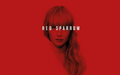 "008 RED SPARROW - Jennifer Lawrence Thriller 2018 USA Movie 22""x14"" Poster"