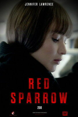 "004 RED SPARROW - Jennifer Lawrence Thriller 2018 USA Movie 14""x20"" Poster"