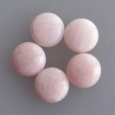 21MM Round Shape Amazing Quality Natural Pink Opal Lot Cabochon Jewelry AG-260