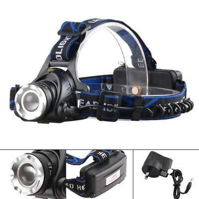 2018 - New 17000LM CREE XML T6 LED Rechargeable HeadLamp Torch HeadLight 18650