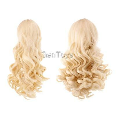 2pcs Doll Wigs Heat Resistant Curly Hair for 18'' American Girl Dolls #4+#10