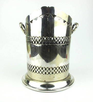 Art Nouveau Silver Plate John Sherwood & Sons of Birmingham Bottle Holder