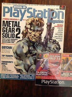 Official Playstation Magazine UK INCLUDING DISC Issue #60 July 2000