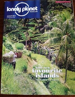 Lonely Planet Magazine Aigust 2017 Bali Sicily Faroe Italy Ontario Berlin