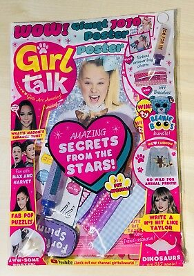 Girl Talk Magazine #598 With AMAZING FREE GIFTS!! (NEW)