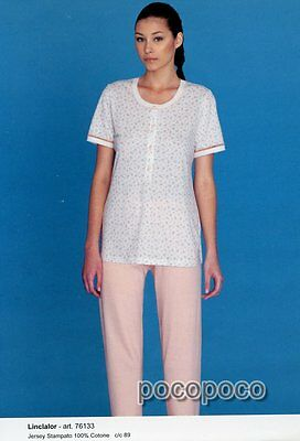 Pajamas Seraph Short Sleeves Cotton Navigare Art Clothing, Shoes & Accessories 140792 Sleepwear & Robes