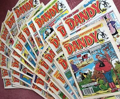 Dandy Comics 1989-1993. Bundle Of 33