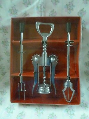 Vintage Westminster 3 Piece Bar set  #343 *New In Box