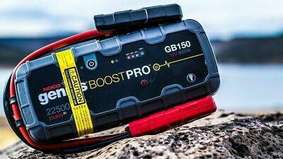 NOCO Genius Boost Pro GB150 Boat Marine  UltraSafe Lithium Jump Starter Pack