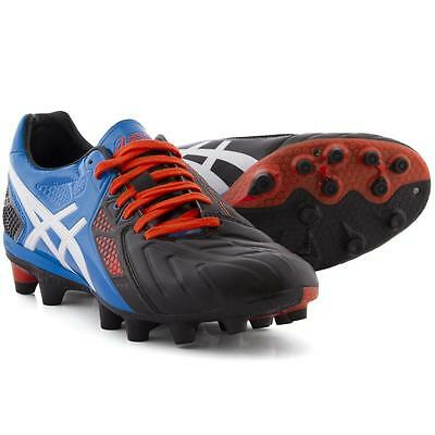 New Asics Lethal Stats 3 Rugby Boots moulded studs for hard ground UK sz 9