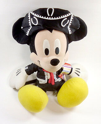 "Disney World Matador Mickey  Plush16"" Sott Doll Stuffed Toy Collectible"