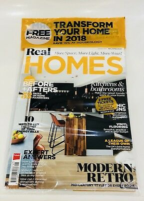 Real HOMES MAGAZINE JANUARY 2018 - FREE MAG INSIDE! (NEW)