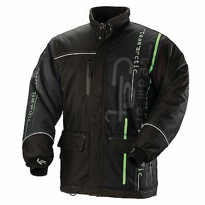 Arctic Cat Men's Insulated Tactic Advantage Coat Black/Lime Green - 5260-039 3XL
