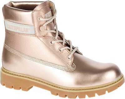 1f52ce3bc32f Caterpillar Cat Lyric Damen Stiefel Boots Winterstiefel P309678 Gold Bronze  Neu