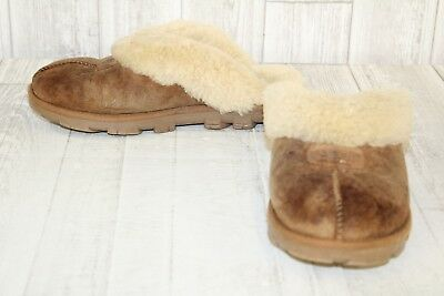 7bd9644689b UGG COQUETTE SLIPPERS-WOMEN'S size 8 Brown