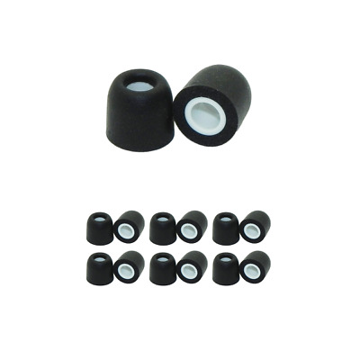 6 pair - Size small memory foam replacement ear tips for Jaybird X3 & Freedom F5