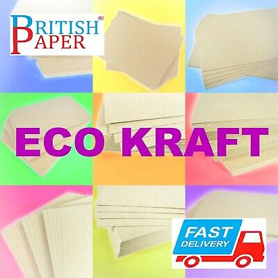A3 A4 A5 Brown Kraft Card Stock Blank Craft Making Thick Paper Cardboard Printer
