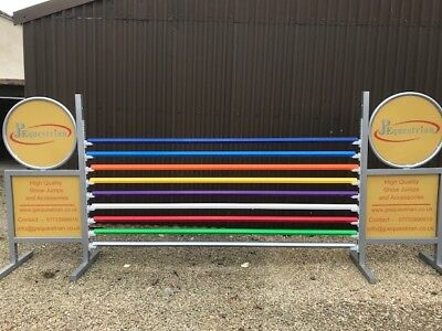 Aluminium Show Jumping Poles Hexagonal - to use with Showjumping cups 3m